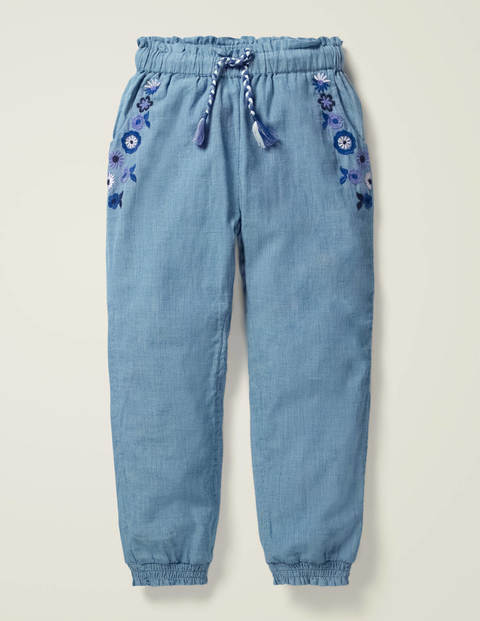 Detailed Vacation Pants
