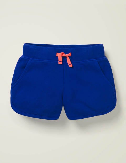 Garment-Dyed Jersey Shorts - Bright Blue