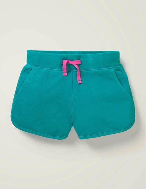 Garment-Dyed Jersey Shorts - Deep Marine Green