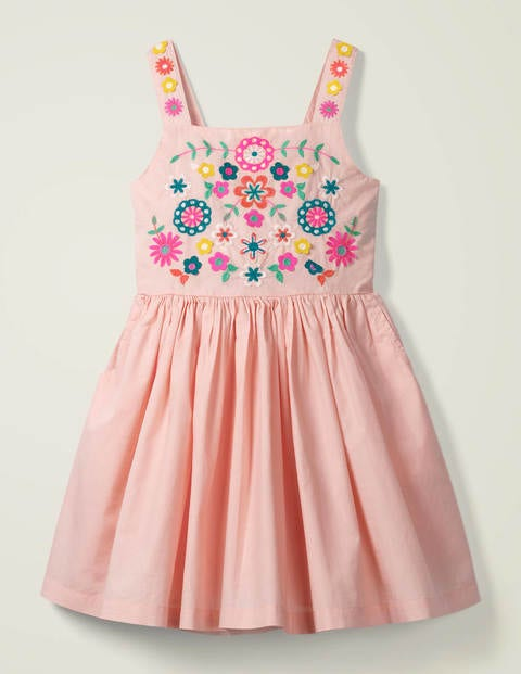 Embroidered Sun Dress