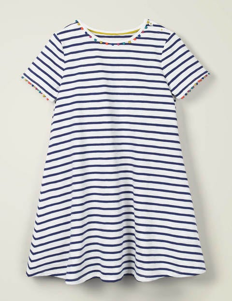 Charlie Pom Jersey Dress