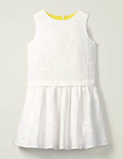Strawberry Broderie Dress