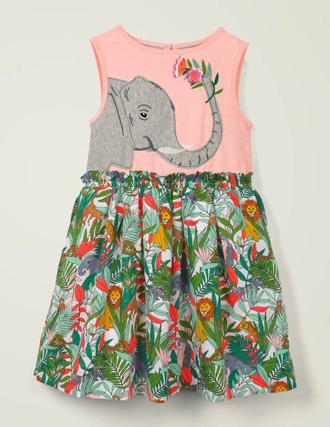 Safari Appliqué Dress