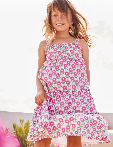 Twirly Woven Dress