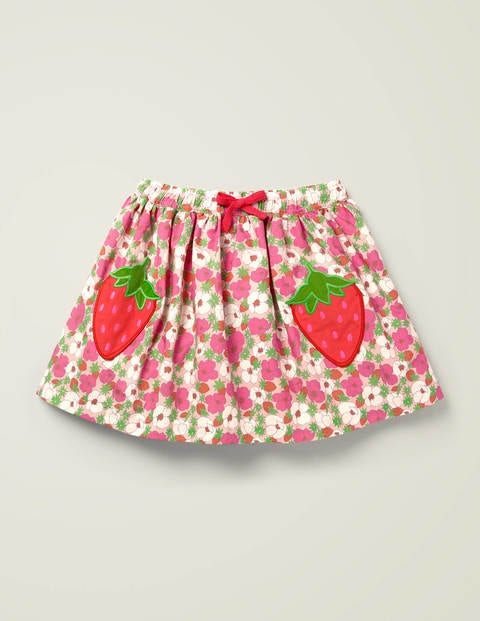 Novelty Pocket Woven Skirt