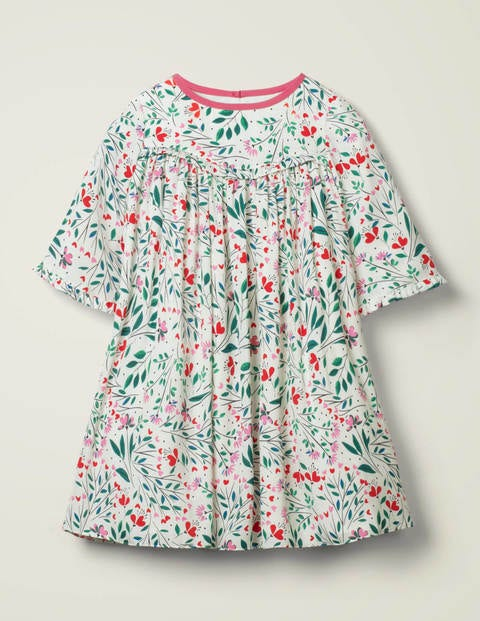 Mini Victoria Dress - Ivory Charm Garden