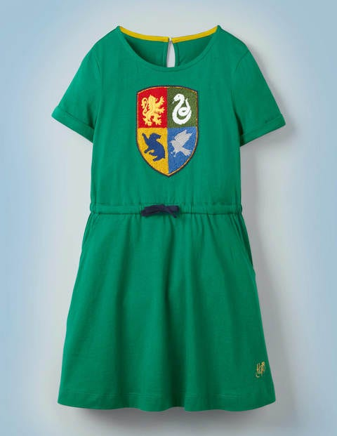 Hogwarts Crest Dress - Mountain Meadow Green