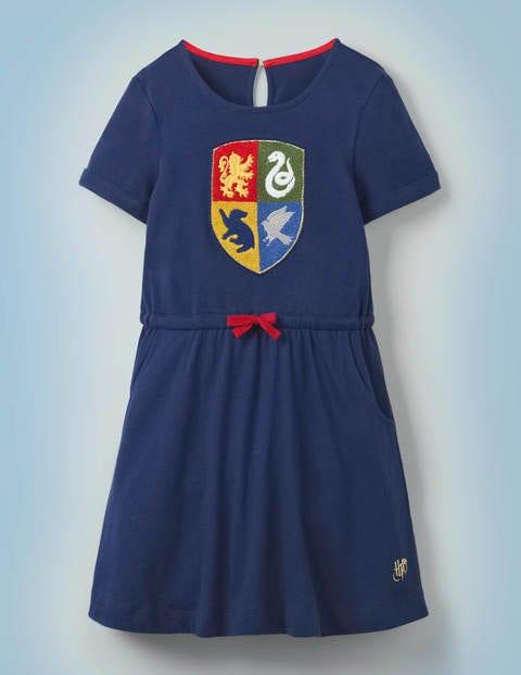 Kleid mit Hogwarts-Wappen
