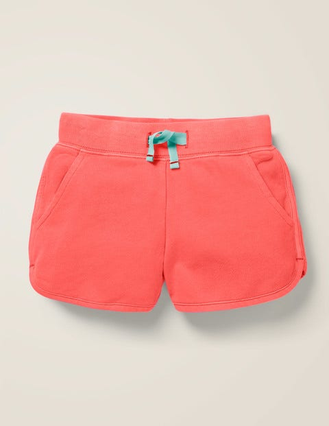Garment Dyed Shorts - Guava Orange