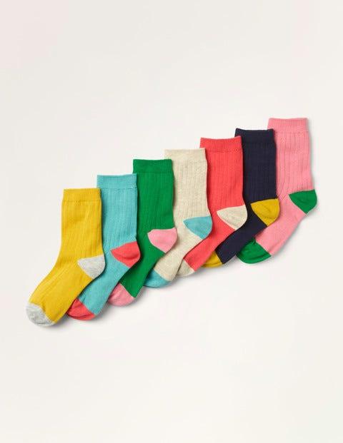 Ribbed Socks 7 Pack