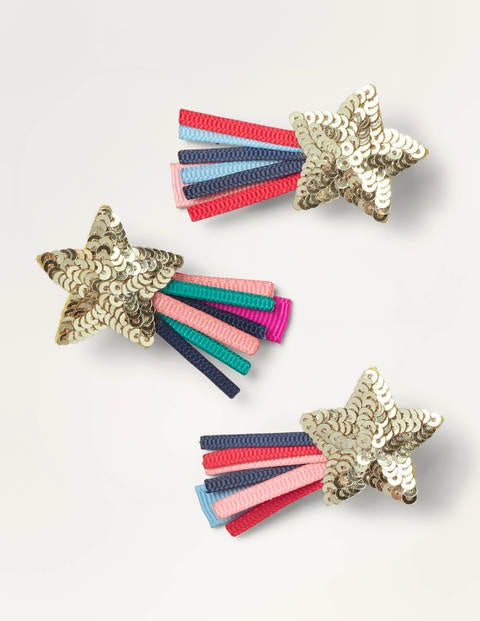 Hair Clips 3 Pack - Multi