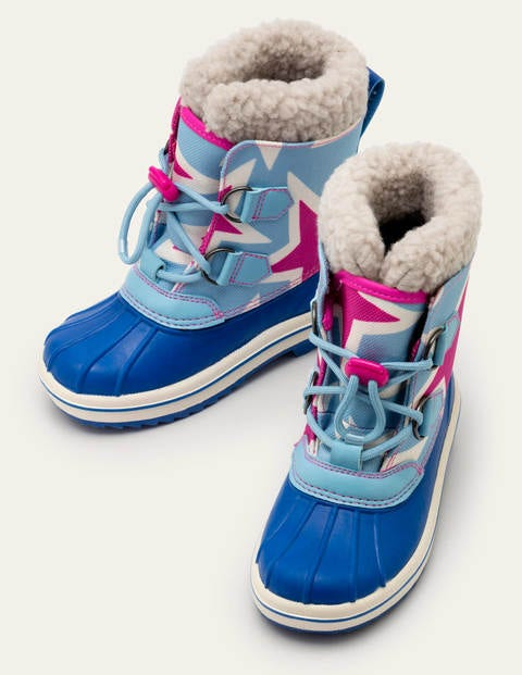 All-weather Boots - Shocking Pink/Frost Blue