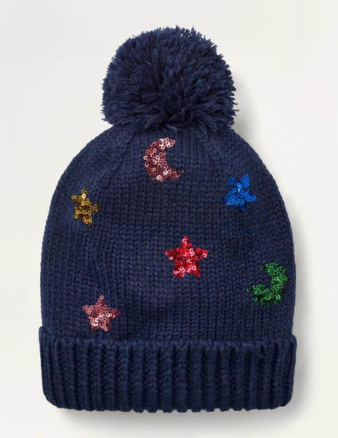 Mütze mit Glitzer