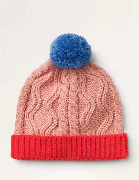 Chunky Cable Knit Hat