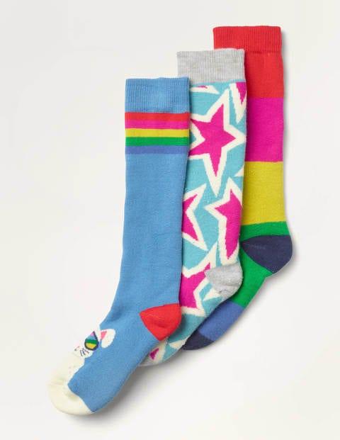 Ski Socks 3 Pack - Multi