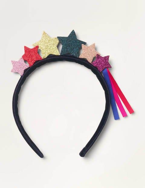 Haarband mit Glitzersternen - Bunt, Sterne