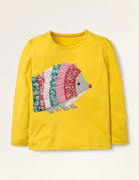T-shirt à appliqué volanté