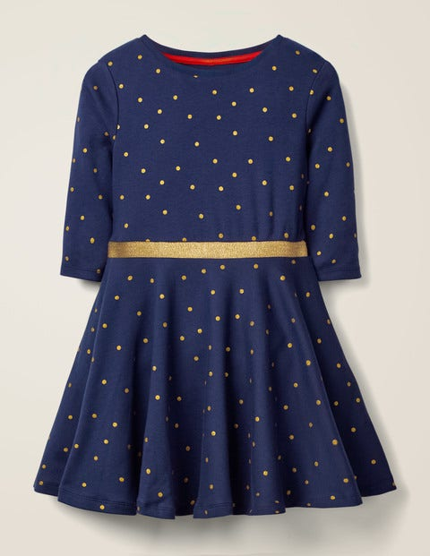 Spotty Jersey Dress