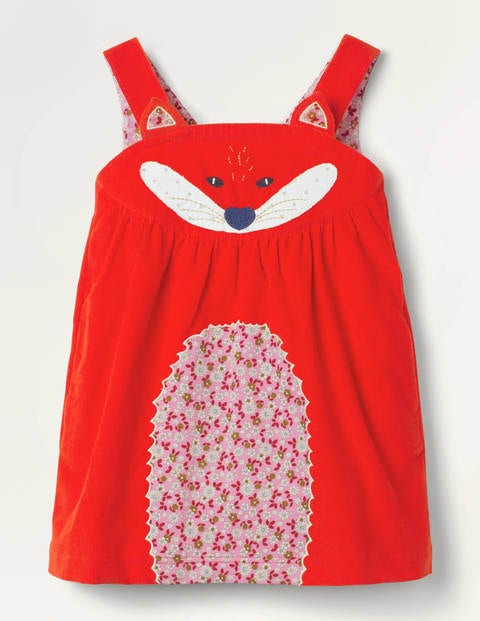 Fun Animal Pinafore Dress