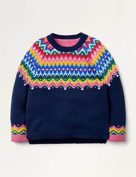 Cosy Fair Isle Sweater