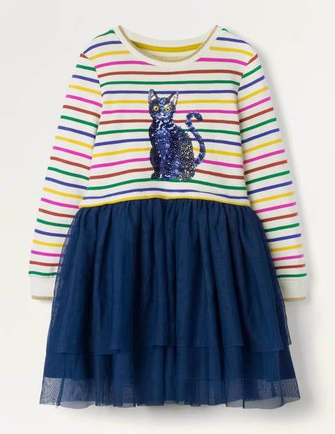 Cat Sequin Tulle Dress