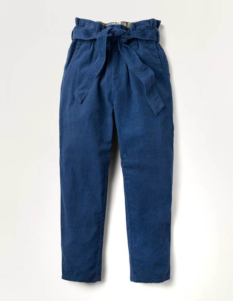 Cord Tie-waist Trousers