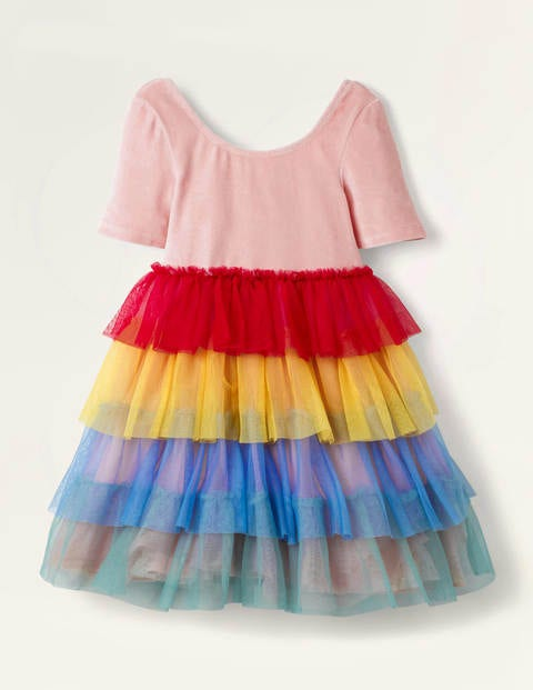 Velvet Bodice Tulle Dress