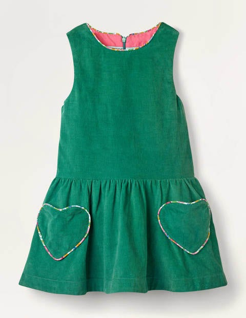 Heart Pocket Woven Dress