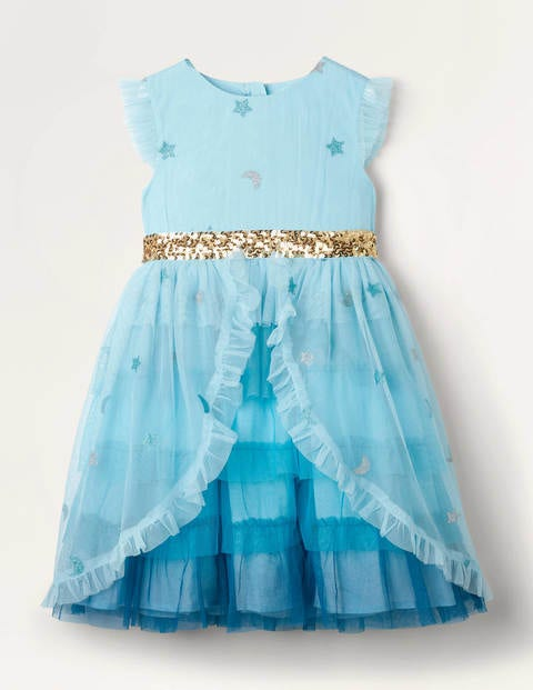 Tiered Tulle Party Dress
