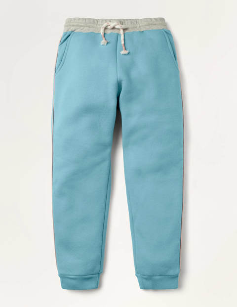 Shaggy-lined Joggers - Frost Blue