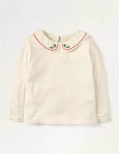 Bunny Collar Jersey Top