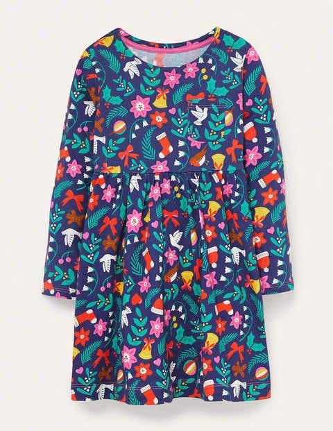 Long Sleeve Fun Jersey Dress