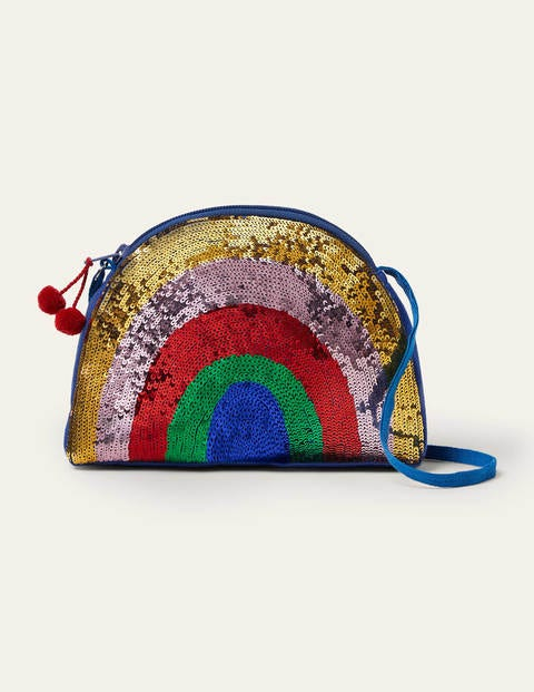 Rainbow Sequin Crossbody Bag - Multi