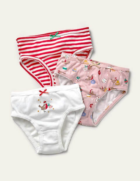 Christmas Underwear 3 Pack