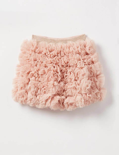 Tulle Ruffle Skirt - Provence Dusty Pink