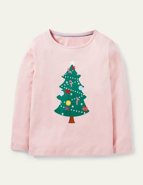 Glow-in-dark T-shirt - Boto Pink Christmas Tree