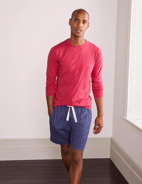 Pyjamashorts aus gebürsteter Baumwolle