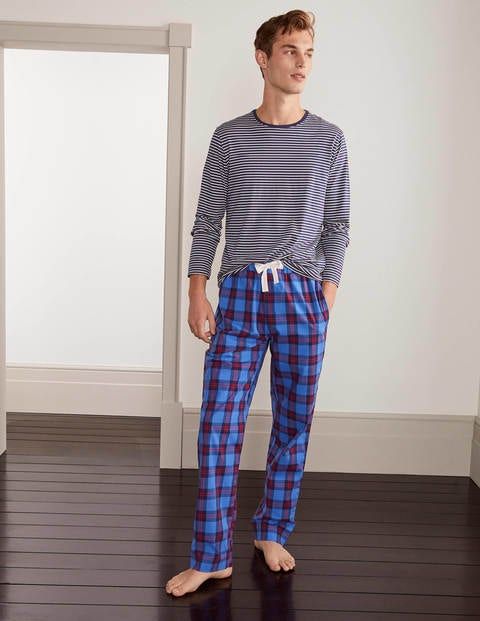 Cotton Poplin Pajama Bottoms
