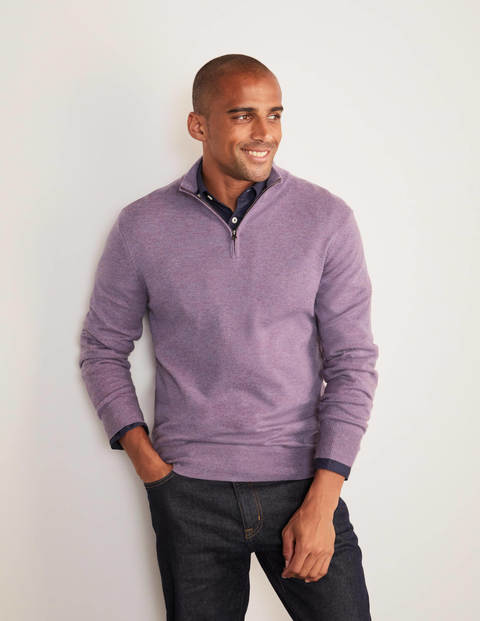 Lambswool Half-Zip