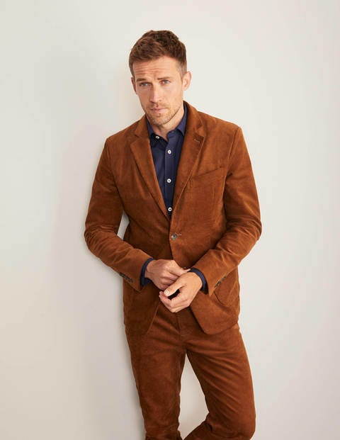 boden - Belvedere Cordblazer Brown Herren , Brown