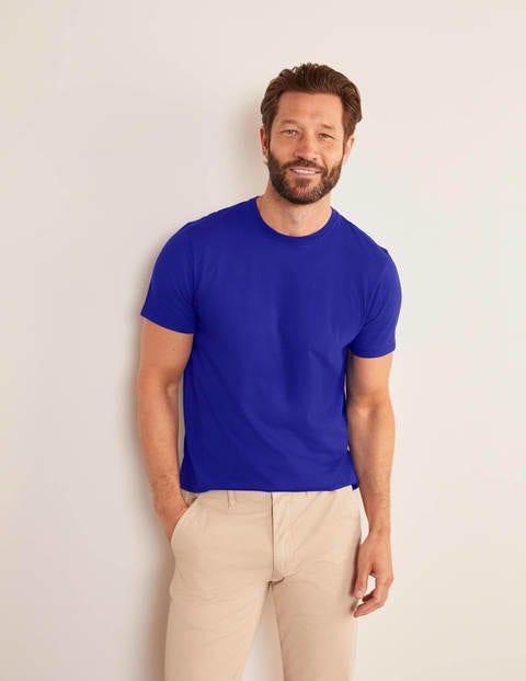 Washed T-shirt - Greek Blue