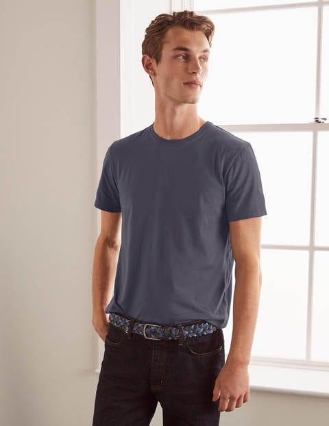 Vorgewaschenes T-Shirt - London Grau