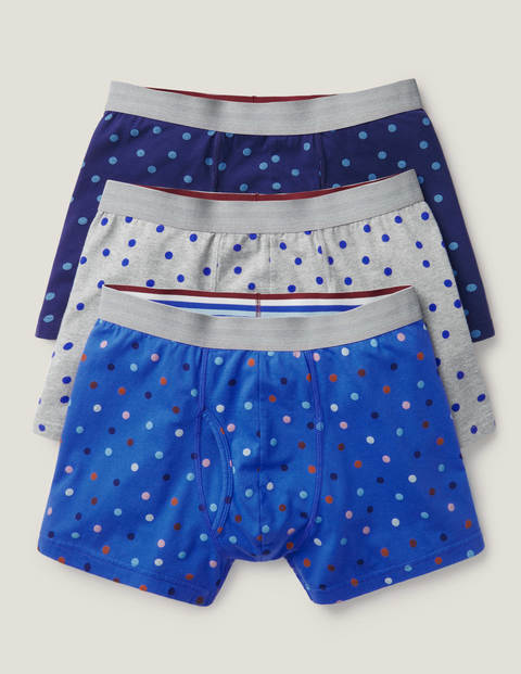 3 Pack Jersey Boxers - Multi Spot Pack