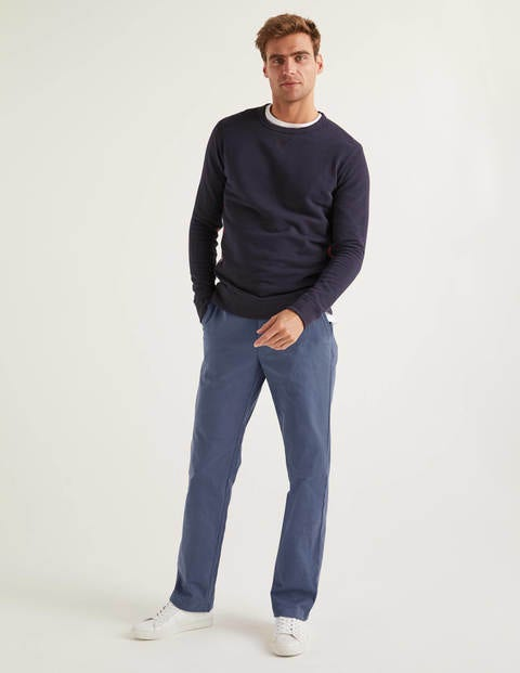 Original Straight Leg Chinos - Steel Blue