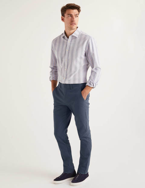 Original Slim Leg Chinos - Steel Blue