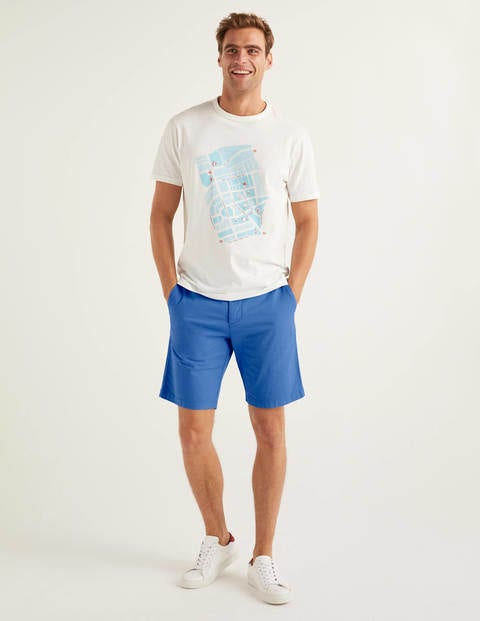 Chino Shorts - Sky Blue