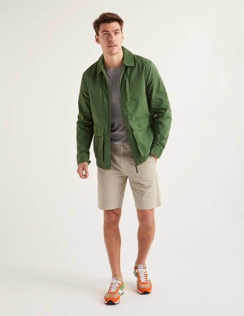 Chino-Shorts - Steingrau
