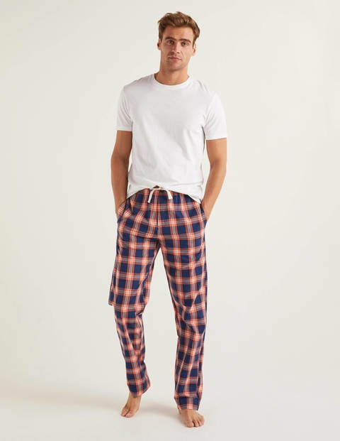 Cotton Poplin Pyjama Bottoms