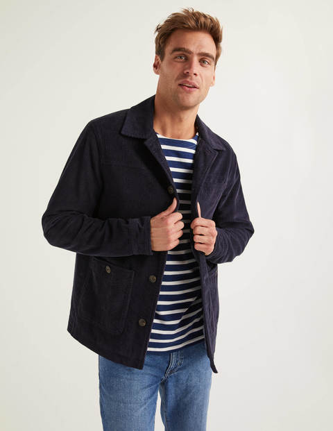 Redmire Cord Jacket - Navy