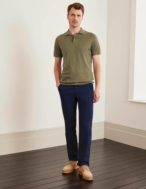 Lightweight Chinos - Navy
